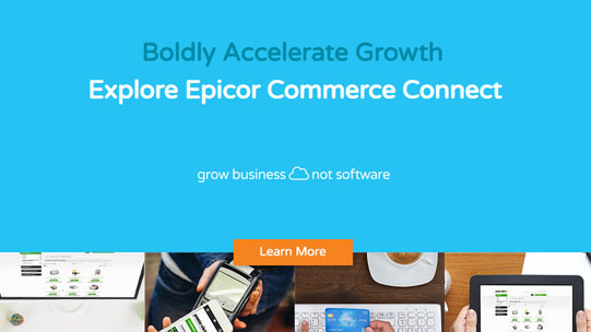 Epicor Commerce Connect Virtual Tour and Demo