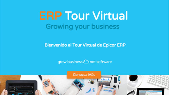 Tour Virtual de Epicor ERP
