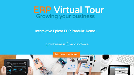Epicor ERP virtuelle Tour & Demo