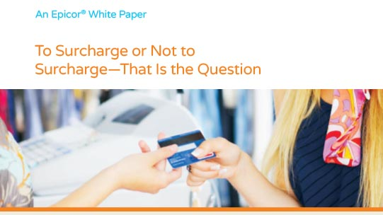 To Surcharge or Not to Surcharge White Paper