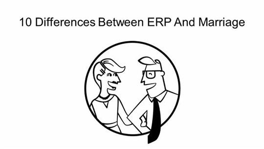 10 Differences between ERP and Marriage