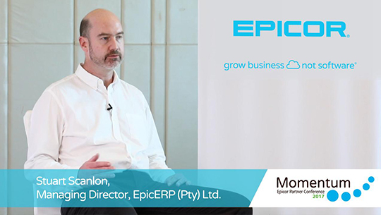 Stuart Scanlon talks about achieving substantial growth by implementing Epicor ERP 10