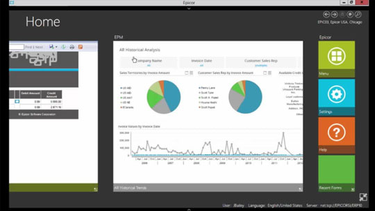 Epicor ERP Version 10: Financial Management Demo