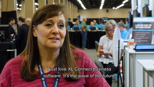 Insights 2018 Customer Testimonial on XL Connect: Laurice Herzog, Epicor Partner