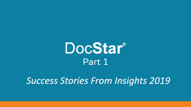 Success Stories from Insights 2019 part 1
