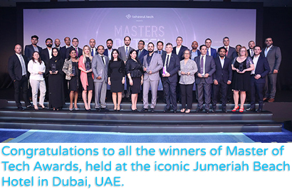 Congratulations to all the winners of Master of Tech Awards