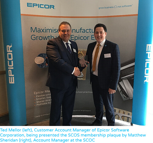 Epicor Awarded Membership of the Sheffield Chamber of Commerce