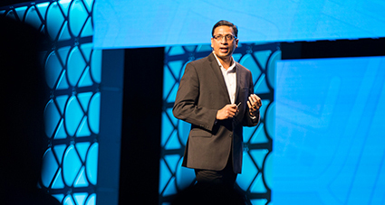 Himanshu Palsule talks about the industry and the cloud at Insights 2017 Nashville