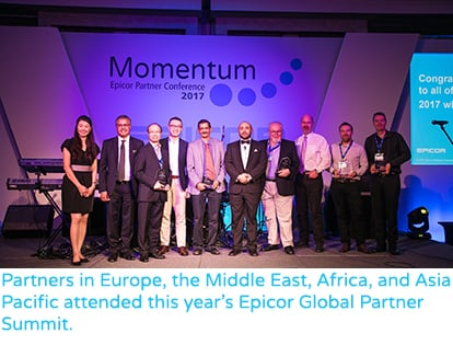 Partners Recognised for Excellence at Momentum 2017