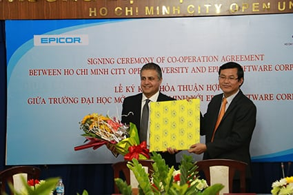 Partnership with Ho Chi Minh City Open University