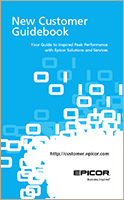Read the new Epicor Customer Guidebook