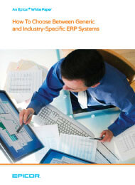 How To Choose Between Generic and Industry-Specific ERP Systems